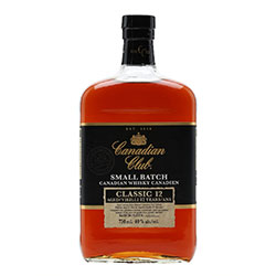 Canadian Club Small Batch Classic 12Yr Blended Canadian Whiskey