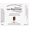 Balvenie The Sweet Toast of American Oak 12Yr Single Malt Scotch Whisky