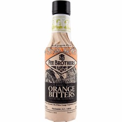 Fee Brothers Gin Barrel Aged Orange Bitters Mixer 5oz