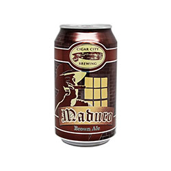 Cigar City Maduro Brown Ale 6pack Can